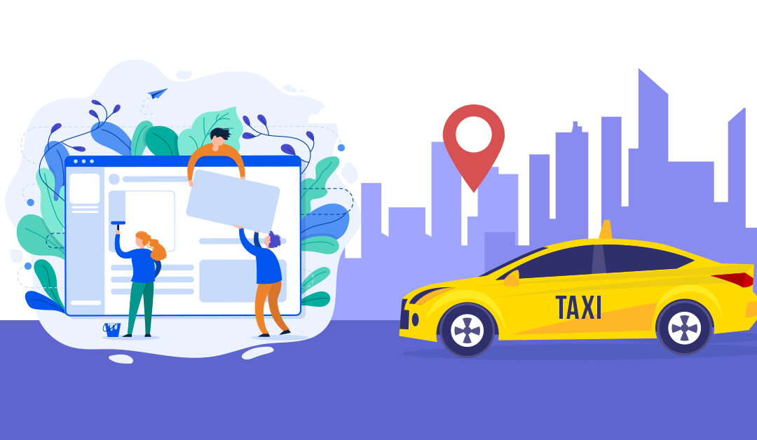 White label taxi booking app
